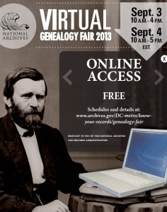 NARA Genealogy Fair