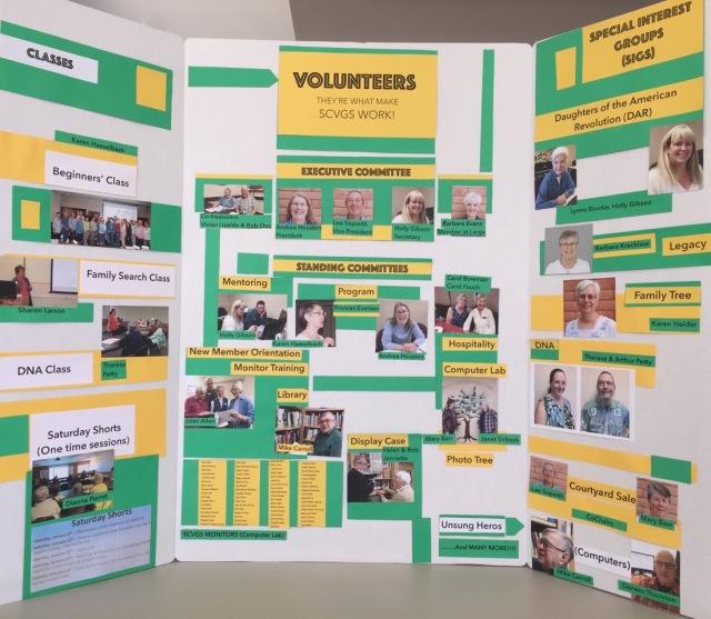 Volunteers Display