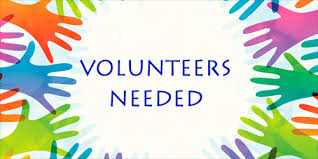 need volunteers
